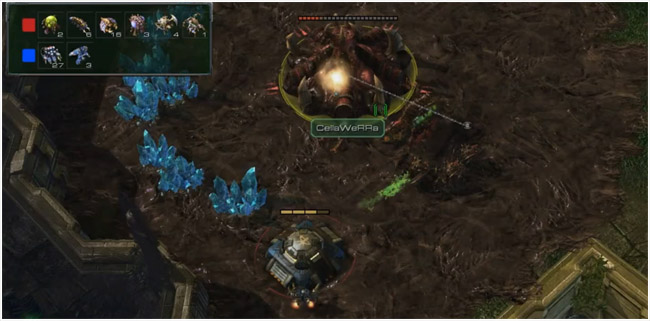 Starcraft 2 Bunker Rush with Reapers