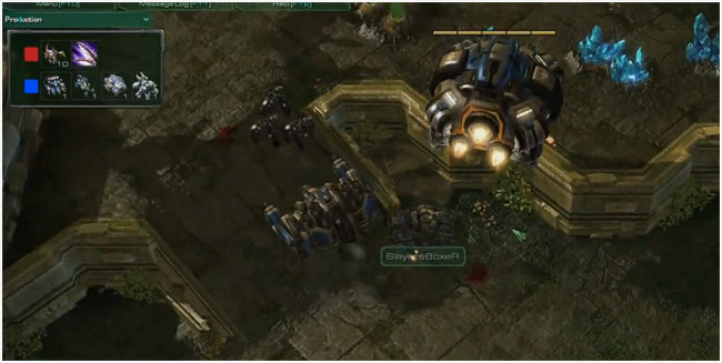 Starcraft 2 Terran Flying Command Center to expand