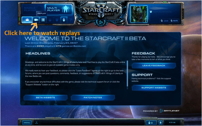 starcraft 2 client side cache error